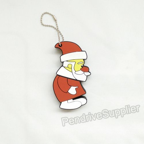 Pendrive Walking Father Christmas Santa Claus style USB Flash drive