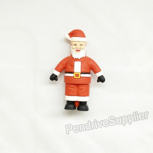 Smiling pendrive father Christmas Santa Claus shape USB Flash drive