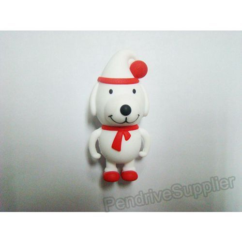 Christmas Dog USB Flash Memory