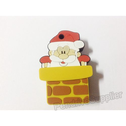 Santa Claus Chimney USB Flash Drive