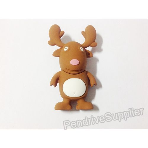 Christmas Deer USB Flash Drive