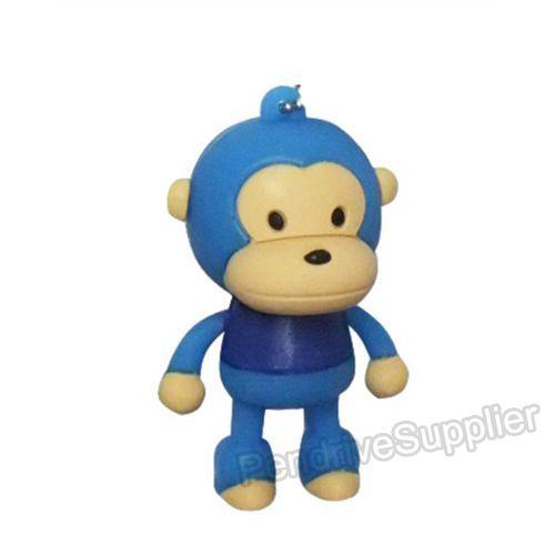 nEO_IMG_猴子 站姿 蓝