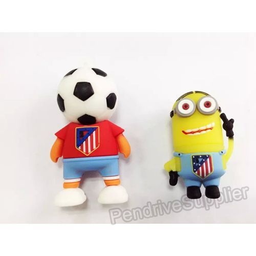 Atletico Madrid 19 Football Shirt USB Flash Drive