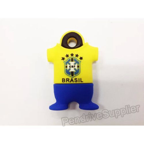 Brazil 10 Football Shirt USB Flash Drive