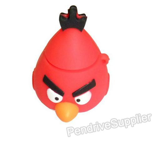 Pen Drive Angry Birds Red USB Flash Disk