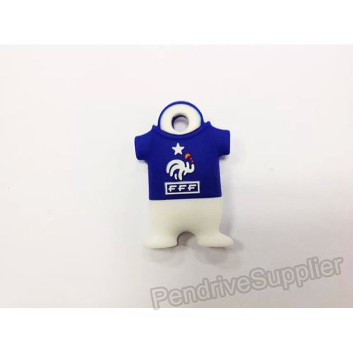 French 7 Football Shirt USB Flash Drive