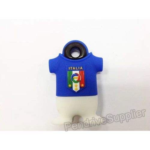 Italy 9 Football Shirt USB Flash Drive