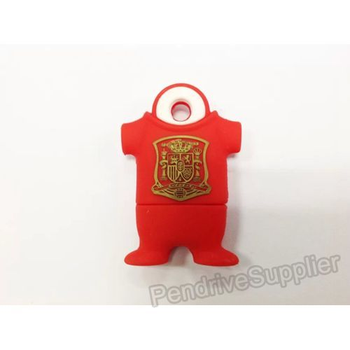 Spain 8 Football Shirt USB Flash Drive