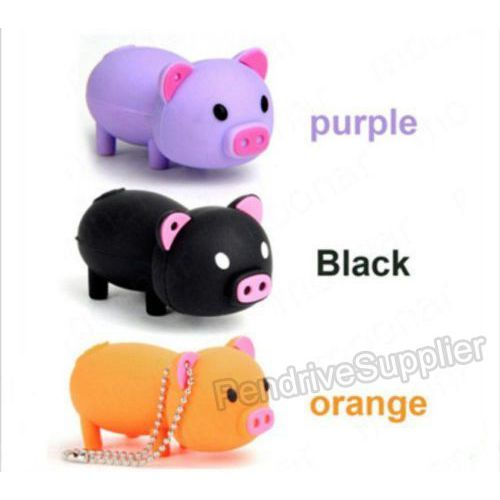 Pen drive Cartoon Mini cute Pig USB Flash drive memory stick
