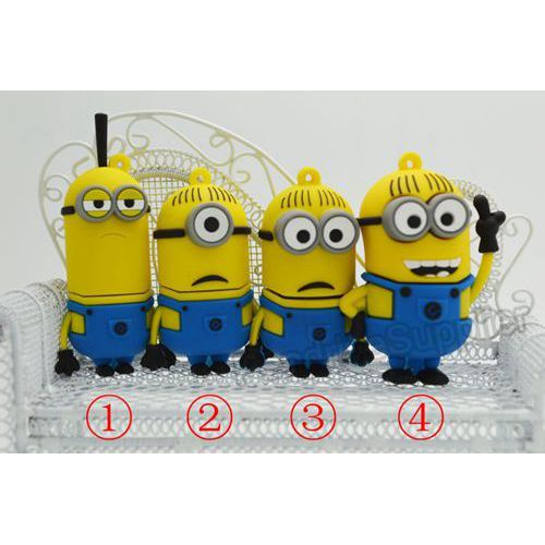 Pen drive Cartoon Minions  USB Flash drive memory stick