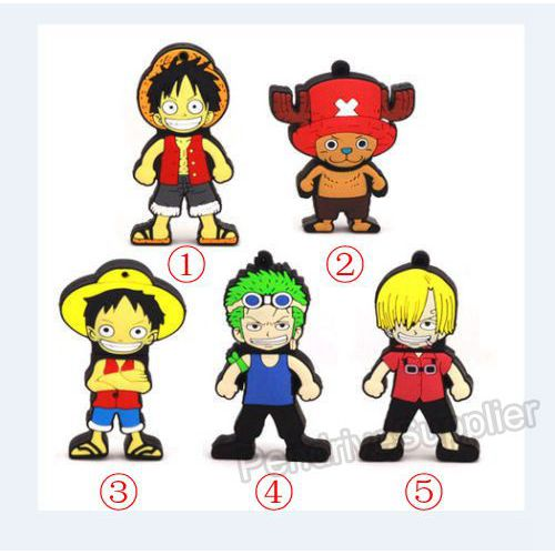 Pen drive Cartoon One piece model USB Flash drive memory stick