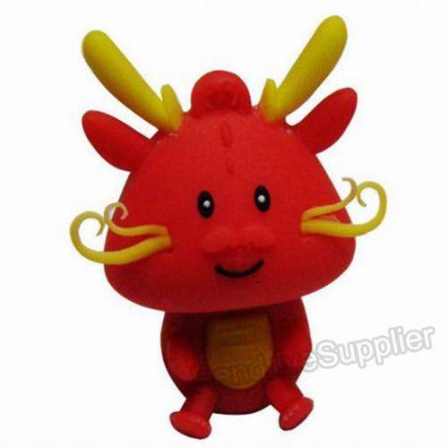 Pen drive cartoon red dragon USB Flash drive memory stick