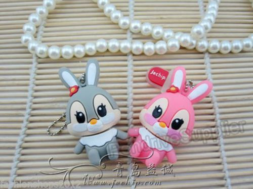 Pen drive Cute Rabbit Model USB Flash drive memory stick