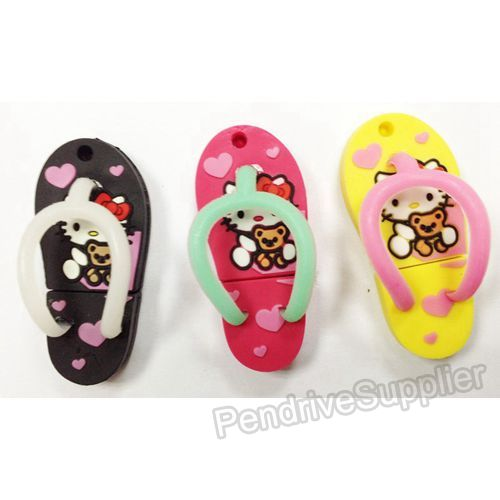 Hello Kitty Slippers USB Memory Disk