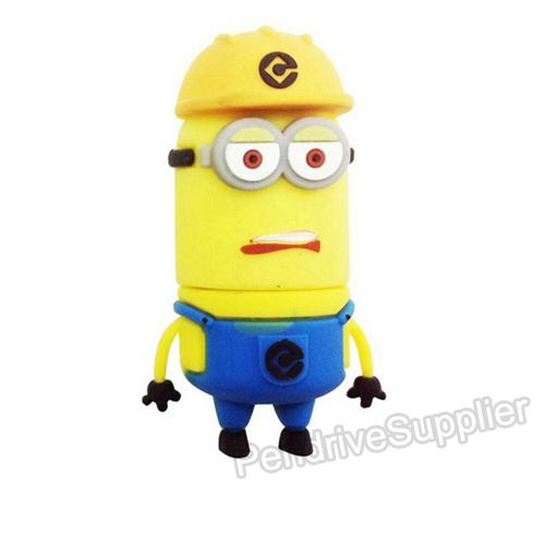 Safety Helmet Minions USB Flash Drive
