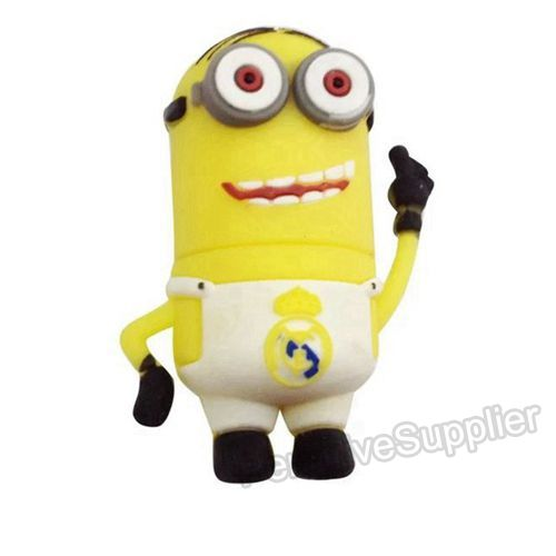 Champions League Football Minions USB Flash Drive