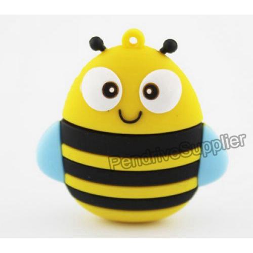 Cartoon Animal Bee USB Flash Drive