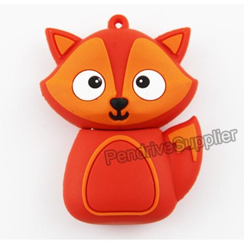 Cartoon Fox USB Flash Drive