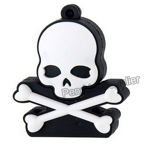 Skull Head USB Flash Drive