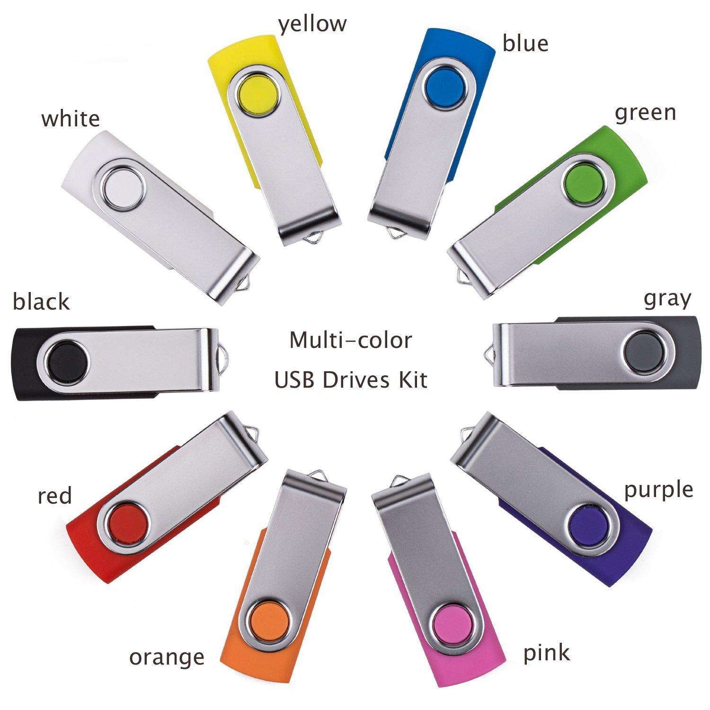 custom swivel pen drive