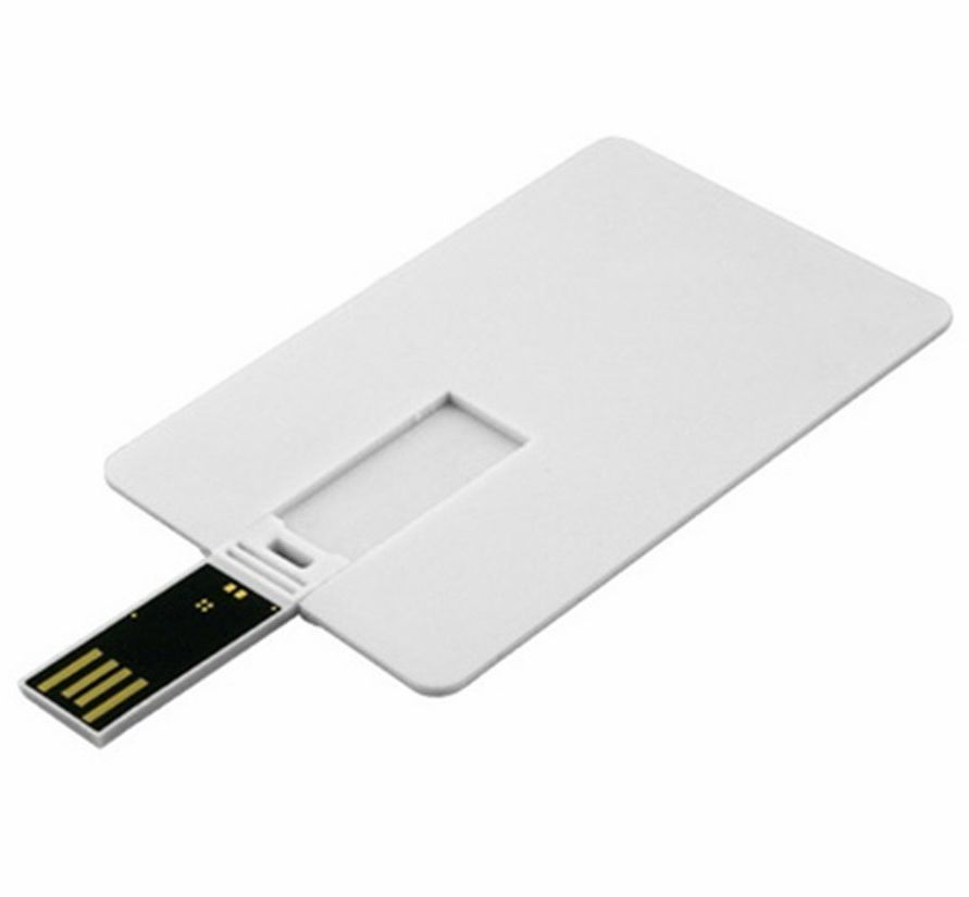 white card usb drive