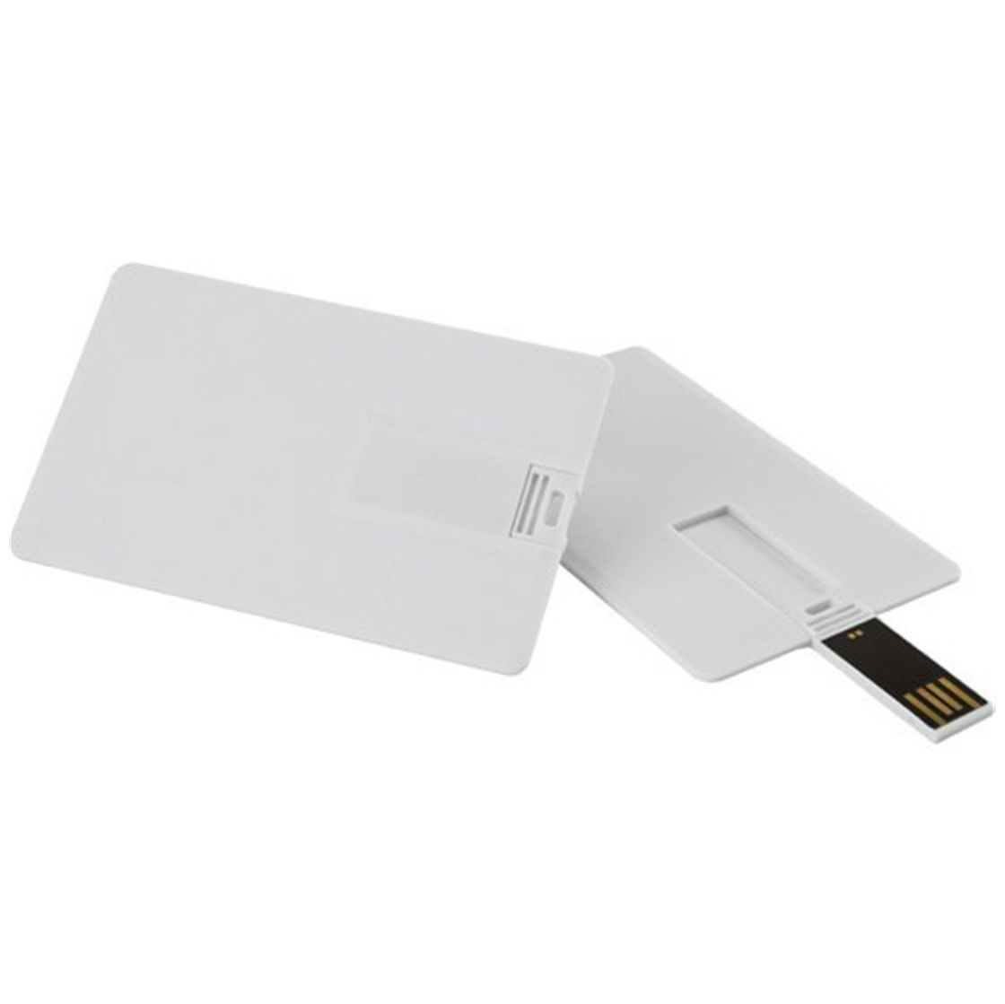 white card usb flash drive