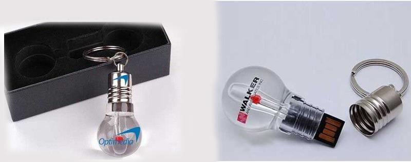 logo bulb usb flash drive