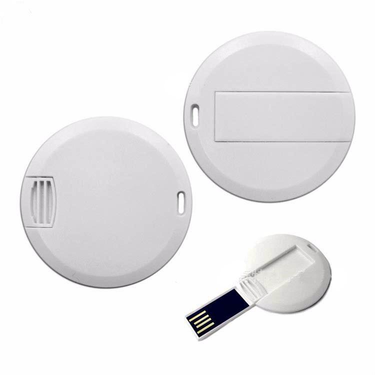 mini round card usb flash drive