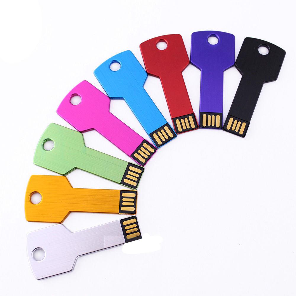 Custom USB Flash Drive Metal Key LOGO